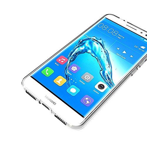 FoneExpert® Huawei Nova Plus Tasche, Ultra dünn TPU Gel Hülle Silikon Case Cover Hüllen Schutzhülle Für Huawei Nova Plus - 4