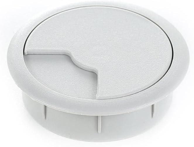 Mat/ériau : plastique set de 8 Couleur: gris sossai/® passage de c/âble KDM2 table /& plan de travail Made in EU Passe-c/âble//passe-fil pour bureau Diam/ètre: 60 mm