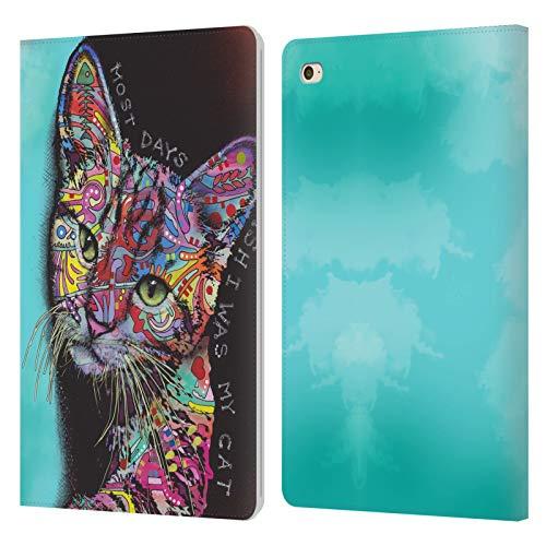 Head Case Designs Oficial Dean Russo Más días Gatos 3 Carcasa de Cuero Tipo Libro Compatible con Apple iPad Mini 4