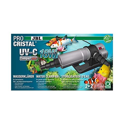 JBL Wasserklärer, PROCRISTAL UV-C Compact plus, 18 W, 5 m Kabel