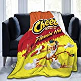 GIPHOJO Flannel Blanket - Lightweight,Cozy Bed Blanket Soft Throw Blanket Fit Couch Sofa Car Beach Travel Picnic Camping Suitable for All Season 50'x40'