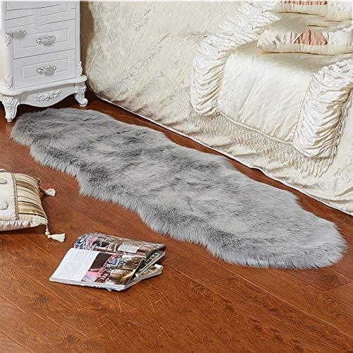 Sroomcla Nachgeahmte Wolle Oval Wohnzimmer Teppich Kinderzimmer Teppich Einfache Imitation Wolle Oval Teppich Kindergarten Teppich Weiche Wolle Teppich Oval Teppich Home Schlafzimmer