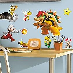 Garantiert das coolste Super Mario Wandtattoo für das Kinderzimmer ...