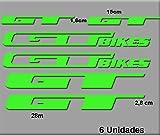 Ecoshirt 6P-GCEN-JSEQ Pegatinas GT Bikes R70 Stickers Aufkleber Decals...