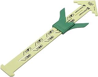 Henghe Medidor deslizante, ferramenta de costura, medidor de costura, suprimentos de costura, régua de retalhos para tric...