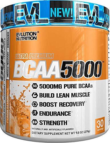 EVLution Nutrition BCAA 5000, Blue Raz, 240g