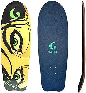 Glutier Surfskate Deck Dryli Eyes 31 Surf Skate Sk...