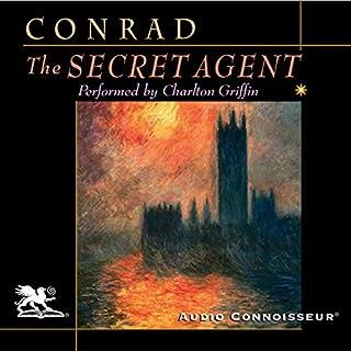 The Secret Agent audiobook cover art