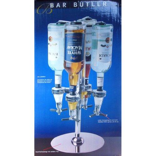Bar Butler für 4 Flaschen