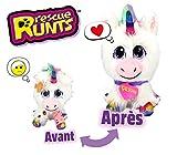 Juguete de Unicornio para niños de Rescue Runts, Juguete Veterinario, Rainbow, 3 años en adelante