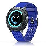 NotoCity Correa para Amazfit Bip Xiaomi, 20mm Repuesto de Correa Reloj de Silicona para Garmin Forerunner 245/645/Vivoactive 3/Huawei Watch 2/Samsung Galaxy Watch 42mm/Gear Sport/Active