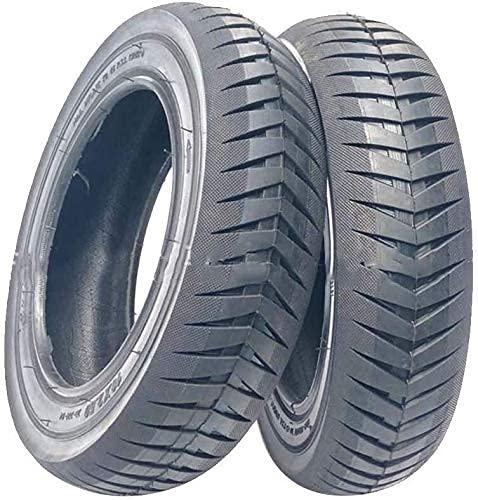 Neumáticos de Scooter eléctrico, neumáticos sólidos de Panal a Prueba de explosiones, Ruedas de Aluminio, adecuados para Segway Nahnbo 9 Scooter Es1 Es2 Es3 Es4 Accesorios de neumáticos Neumáticos d