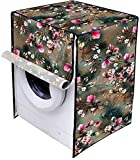 Color: Multi, Material: Pvc, Design: Printed, Fabric: Non Woven Printed Laminated. Package Contents: 1 Piece Front Loading Washing Machine Cover, It can fit on major brands of washing machine. Size: WxHxD: inches(23X35X22):: In cms:(58x89x56), Zip en...
