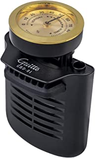 Guitar Humidifier - Guitto GHD-01 2-in-1 Humidity Care System for Acoustic Guitar Humidifier Hygrometer
