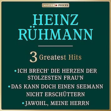 Masterpieces Presents Heinz Rühmann: 3 Greatest Hits
