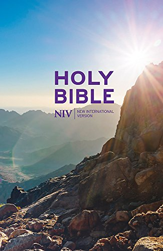NIV Thinline Value Hardback Bible (New International Version)