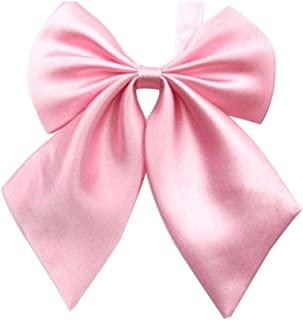 Gliterstar Women's Solid Color Bow Tie School Student Sailor Suit Bowknot Adjustable Ribbon