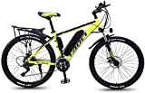 "FGART Mountain Bike Electric for Adult Aluminum Alloy Bicycles All Terrain 26"" 36V"