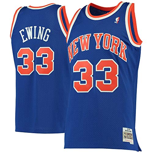 Patrick Ewing New York Knicks #33 Blue Youth 8-20 Soul Hardwood Classic Swingman Jersey (14-16)