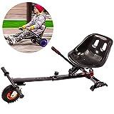 FLy Go-Kart Soporte Silla De Scooter Self Balance con Diseño De Doble Amortiguación para 6,5 8 10 Pulgadas Hoverboard Accesorios Smart Electric Scooter para Derrapar Y Hacer Trucos