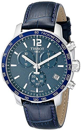 Tissot Quickster Chronograph Blue Dial Men's Watch