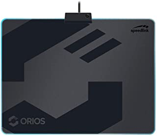 Speed Link orios LED Gaming Mousepad Soft, Grigio/Nero