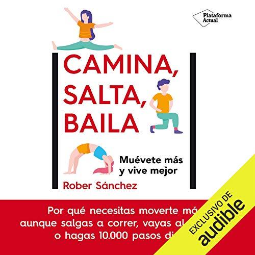 Diseño de la portada del título Camina, salta, baila