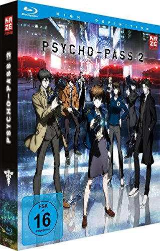 Psycho-Pass - Staffel 2 - Vol.1 - [Blu-ray] mit Sammelschuber [Limited Edition]