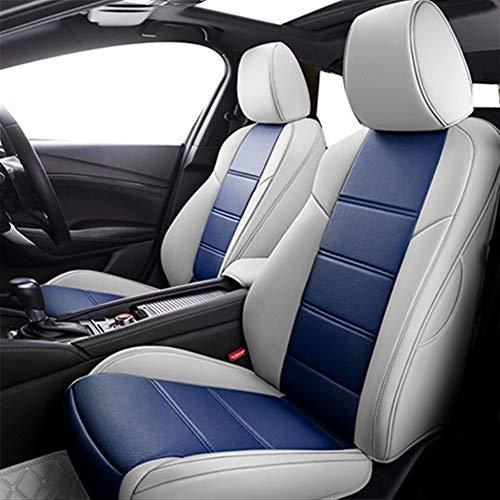 MMI-LX Pelle Traspirante Car Seat Covers di Ricambio Anteriore e Posteriore Auto Sedile Cuscini Protezione for Jeep Renegade Accessori Compass 2018 Cover Commander Grand Cherokee