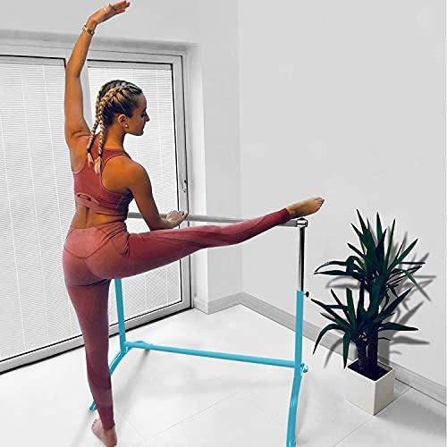 BEEMAT Studio Ballet Barre [Each] • Size: 110cm Length • Fully Adjustable • 2020 Design (Sky...