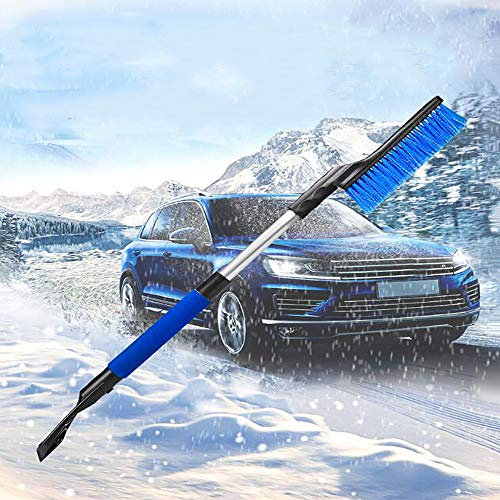 Buy ZXWNB Retractable Car Snow Removal Shovel Multifunction Cars Stalk Broom Ice Scraper Tool Whisk ...