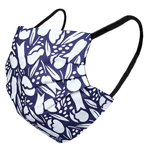 Karabar 2 maschere per il viso lavabili in 100% cotone, prodotto in UE