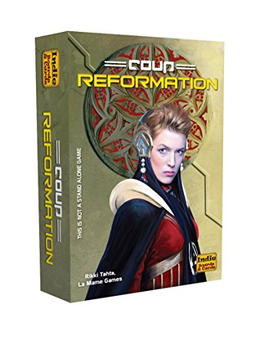 Indie Board Games CO02 - Coup Reformation (Expansion)
