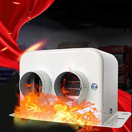 JSX 12 V ventilatorverwarming voor auto, 800 W verwarming glas ontdooier auto voor de winter automatisch warme lucht uitlaat 2 binnen verwarming droger accessoires