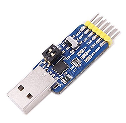 DaoRier 6-in-1 CP2102 USB/TTL / RS232 / RS485 freie gegenseitige Wendung Serial Sonverter, 1 Stück