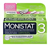 Monistat 3 Day Triple Action Combo Pack, Odorless, White