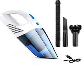 Mini Car Vacuum Cleaner, Handheld Vacuums Cordless 5000Pa 120W Wet and Dry Dual-Use Wireless Super Suction Rechargeable Po...