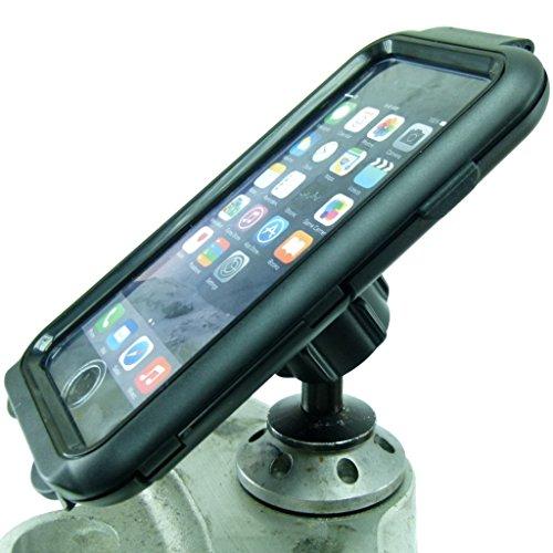 Buybits 12mm Moto Manubrio Supporto & Compact Duro Cover Rigida per IPHONE 7 (4.7 ') Adatto a Kawasaki & Honda Blackbird