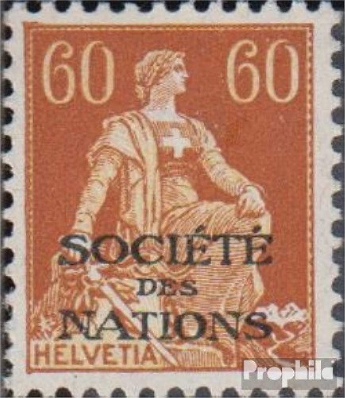 Prophila Collection Svizzera SDN10x 1922 League (Francobolli per i Collezionisti)