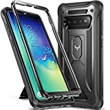 YOUMAKER Kickstand Case for Galaxy S10+ Plus, Heavy Duty