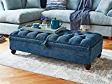 Best Bed Benches - Wood Maker Winsley Storage Ottoman Bench, Sofa Bench Review