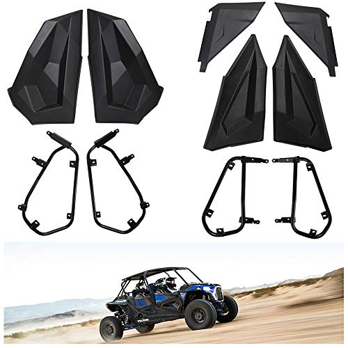 KIWI MASTER Lower Half Door Inserts Panels Compatible for 2014-2021 Polaris RZR XP 4 1000 Turbo S...