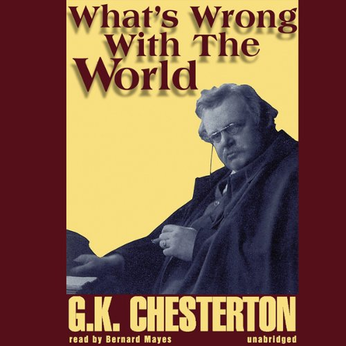 What's Wrong with the World audiobook cover art