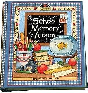 School Memory Album( A Collection of Special Memories Photos and Keepsakes from Kindergarten Through Sixth Grade)[SCHOOL MEMORY ALBUM][Spiral]