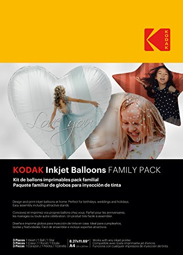 KODAK Inkjet Balloon Family Pack