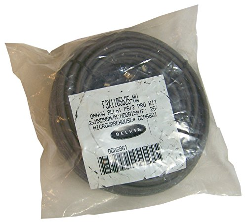 Belkin KVM OMNVW All in One 25FT Pro Series PS2 Cable