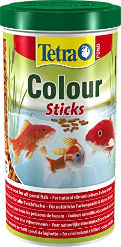 Tetra Pond Colour Sticks -Mangime Completo Galleggiante per Pesci del laghetto dai Colori Brillanti 1 L