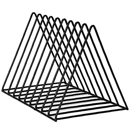 fregthf Estantería De Escritorio Estante Triángulo del Archivo Organizador del Ministerio del Interior Decoración