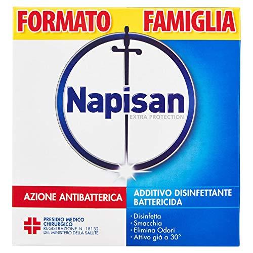 Napisan Additivo Disinfettante Battericida per Bucato, Formato Famiglia, Polvere, 1.2 kg
