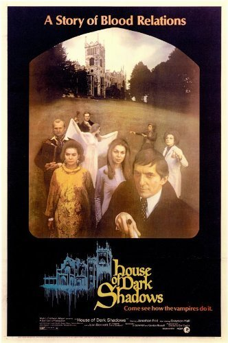 House of Dark Shadows 11 x 17 Movie Poster - Style A by postersdepeliculas